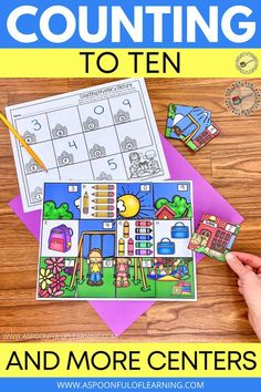 Let's practice counting to 10 with a little twist! This back to school math center has students counting objects and placing the correct number on top. Once they match all of the numbers to the correct group of objects a mystery picture will appear! This math center also comes with a student recording sheet and a kid friendly 'I Can' poster to help them know what to do independently. This counting to 10 activity is so much fun to add to centers or your morning tubs!