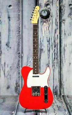 Fender American original 60's Telecaster in Fiesta Red