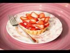 STRAWBERRY ROSE CUSTARD TART (Part of a Tastemade Playlist) - YouTube