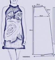 Фотография Sewing Hacks, Sewing Tutorials, Sewing Crafts, Sewing Projects, Fashion Sewing, Diy Fashion, Sewing Clothes, Diy Clothes, Clothing Patterns