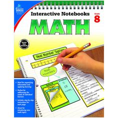 Interactive Notebooks: Math for grade 8 is a fun way to teach and reinforce effective note taking for students. Students become a part of the learning process w