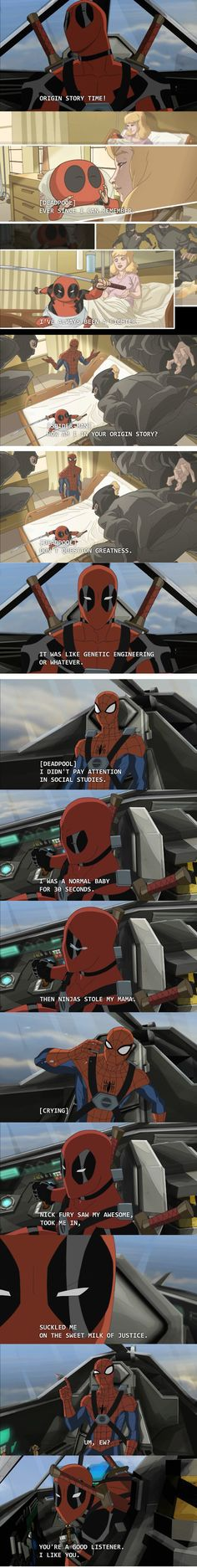deadpool origins