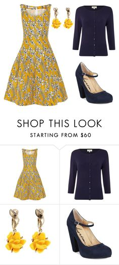 """""""summer night out on the town"""" by miss-harrietjane on Polyvore featuring Oscar de la Renta, Linea, American Rag Cie, women's clothing, women's fashion, women, female, woman, misses and juniors"""