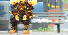 I met Ragnaros for a talk about depression on the Elemental Plane of Fire #worldofwarcraft #blizzard #Hearthstone #wow #Warcraft #BlizzardCS #gaming
