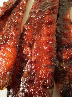True Laurel: Candied Bacon with Sriracha