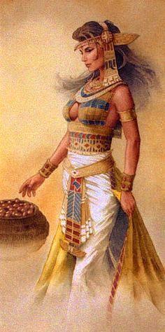 Egyptian Goddess Isis ~ by Jonathon Earl Bowser