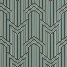Limelight Wallpaper 10486/ Peacock 403 - MOKUM - Upholstery, Drapery, & Wallpaper