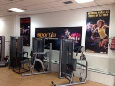Maquinária en nuestro gimnasio #Sportia24h en la calle Vitoria 103