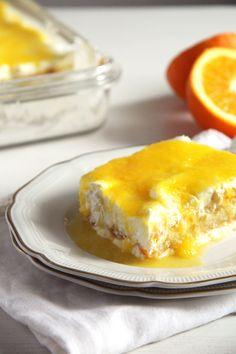 orange tiramisu mascarpone 683x1024 Orange Tiramisu with Mascarpone, Cream Cheese and Yogurt