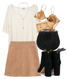 Untitled #6433 by laurenmboot on Polyvore featuring polyvore, fashion, style, Acne Studios, See by Chloé, Aquazzura, Chloé, Zimmermann and clothing