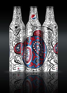 Exclusive Interview with Nicola Formichetti on Pepsi's Packaging Design Challenge — The Dieline - Package Design Resource Cool Packaging, Bottle Packaging, Design Packaging, Branding Design, Web Design, Graphic Design, Limited Edition Packaging, Mexican Designs, Visual Identity
