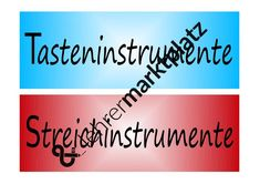 Instrumentenfamilie - Zuordnung – Unterrichtsmaterial im Fach Musik Movies, Movie Posters, Author, Double Bass, Play Based Learning, Social Networks, Teaching Materials, Music, Films