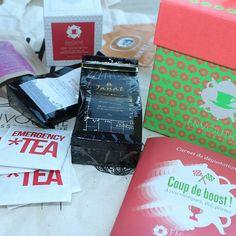Mais c'est une véritable avalanche de thé qui déboule chez @labelleevasion !