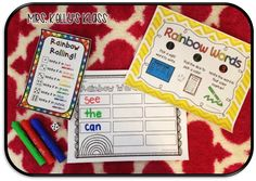 Mrs. Kelly's Klass: Sight Word Stations for ANY WORDS and a freebie to try!