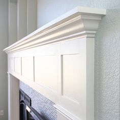 PG Bison SupaWood, PAR pine and extruded polystyrene moulding are all that you need to make an attractive fireplace surround and mantel shel...