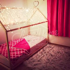 toddler bed twinf or king single size house bedchildren bed frame bed kid nursery bed floor bed montessori bedwith slats
