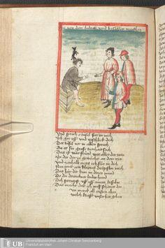 210 [100v] - Ms. germ. qu. 6 - Der Renner - Page - Mittelalterliche Handschriften - Digitale Sammlungen Schwaben, [1446; um 1450]