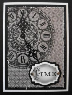 Time by BarbieP - Cards and Paper Crafts at Splitcoaststampers