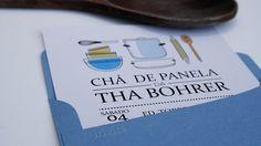 Utensílios de cozinha ilustrados no convite (by Invité):