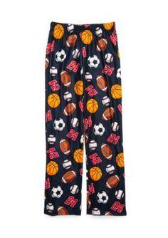 Jellifish Kids Knit Sleep Pants Boys 4-20 - Navy Sport - Xxlarge