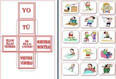 juego presente verbos regualres