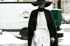 Daria Shapovalova at New York Fashion Week, day 6