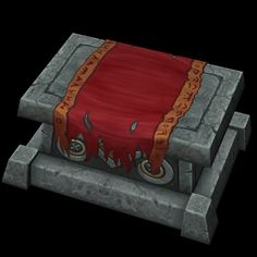 Altar with cloth. by ~Jimpaw on deviantART