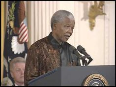 Pres. Clinton at African-American Religious Leaders Reception (1998) - YouTube