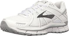 Brooks Adrenaline GTS 17 WhiteSilver Womens Running Shoes >>> Continue to the product at the image link. (This is an affiliate link) Best Winter Shoes, Winter Shoes For Women, Road Running, Women's Shoes, Running Shoes, Image Link, Amazon, Awesome, Sneakers