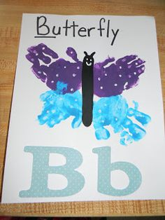 B is for Butterfly