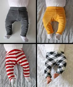 Running With Scissors: Newborn Leggings
