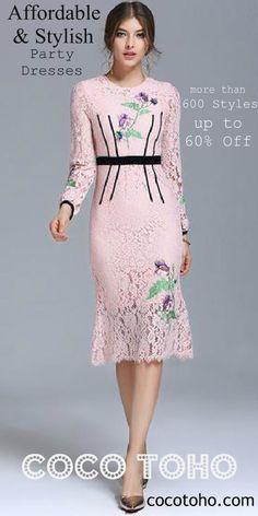 Shop the Best Party Dresses, Work Dresses and Plus Size @ cocotoho.com
