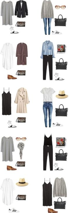 What to Wear in Italy and on a Mediterranean Cruise Outfit Options 1-10 #travellight #packinglight #traveltips #travel