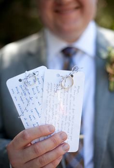 Brides.com: . Write the Groom a Love Letter. Jot down a couple of words and feelings for your soon-to-be hubby to read on the morning of the wedding. It will help get him excited and emotional for the day ahead of both of you.