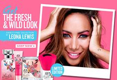 Leona Lewis ofrece un mini concierto para 'The Body Shop'