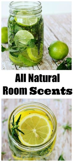 Looking to create your own all natural room scents?  Use herbs, extracts and citrus to create your own. thistlewoodfarms.com