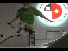 Italo Romano skateur sans jambes... Gran ejemplo de fortaleza y ganas de vivir la vida...