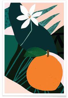 Orange - Tom Abbiss Smith - Affiche premium