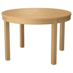 IKEA БЬЮРСТА Раздвижной стол, дубовый шпон - Обеденные столы - Столы - IKEA