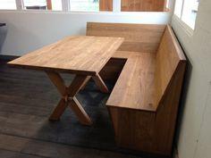keuken met vaste tafel - Google zoeken