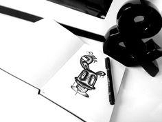 moleskine doodle #artwork #graphic #moleskine #mokeskineart