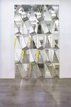 Claudia Wieser #mirror #facet #origami