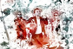 Depeche Mode in color, Depeche Mode need help coloring one of Anton Corbijn's photos, to become part of a large video art piece used on the tour. This is my submission... More infos here www.depechemode.com/photocoloring - Photo by Anton Corbijn - design by Fabien Barral www.mr-cup.com