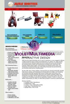 Violet Multimedia   » Jhawar Industries WebSite Design