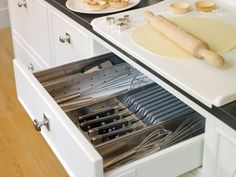 36 идей для организации кухонного ящика   IVOREE