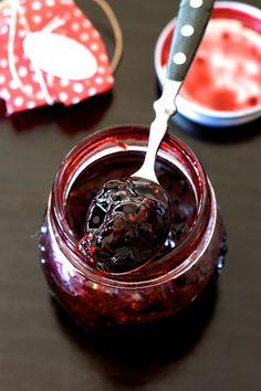 Confiture de fruits des bois - Recette inédite du Petit chaperon Rouge.