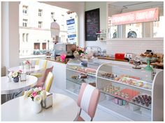 Primrose bakery, London- the inside!!!! LOVE this!!