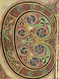 """Illuminated Manuscript """"C"""""""