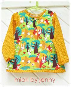 miari: Langarmshirt für Mädels by #allerlieblichst