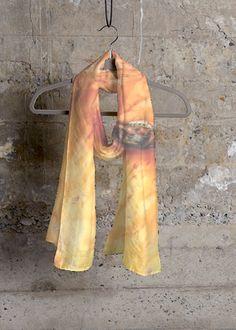 Cashmere Silk Scarf - Parisian Sunset by VIDA Original Artist Love Fashion, Fashion Art, Eco Store, Gray Matters, Spring Flowers, Parisian, Cool Style, Cashmere, Vibrant